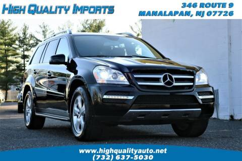2012 Mercedes-Benz GL-Class for sale at High Quality Imports in Manalapan NJ