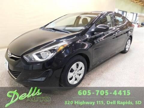 2016 Hyundai Elantra for sale at Dells Auto in Dell Rapids SD