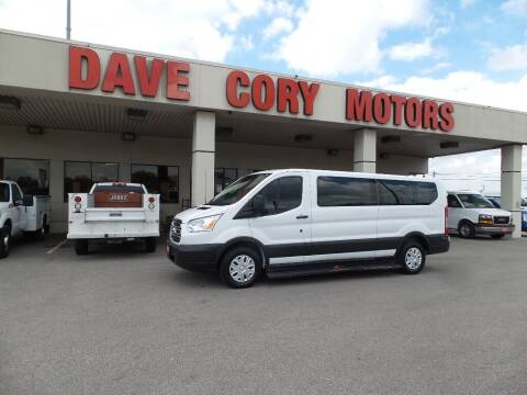 2016 Ford Transit Passenger for sale at DAVE CORY MOTORS in Houston TX