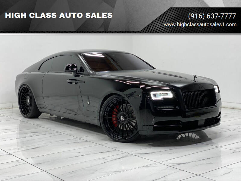 2017 Rolls-Royce Wraith for sale at HIGH CLASS AUTO SALES in Rancho Cordova CA
