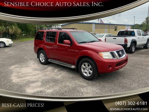 2011 Nissan Pathfinder for sale at Sensible Choice Auto Sales, Inc. in Longwood FL