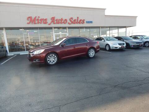 2015 Chevrolet Malibu for sale at Mira Auto Sales in Dayton OH