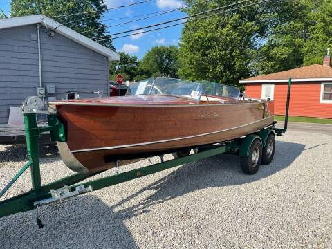 1949 Chris-Craft Runabout for sale at Davidson Auto Deals in Syracuse IN