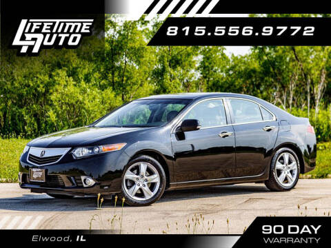 2013 Acura TSX for sale at Lifetime Auto in Elwood IL
