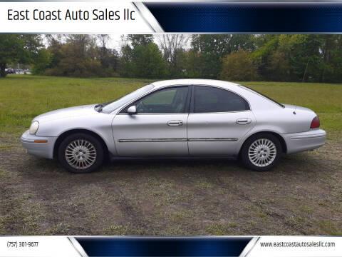 2001 Mercury Sable for sale at East Coast Auto Sales llc in Virginia Beach VA