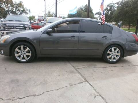 2006 Nissan Maxima for sale at Under Priced Auto Sales in Houston TX