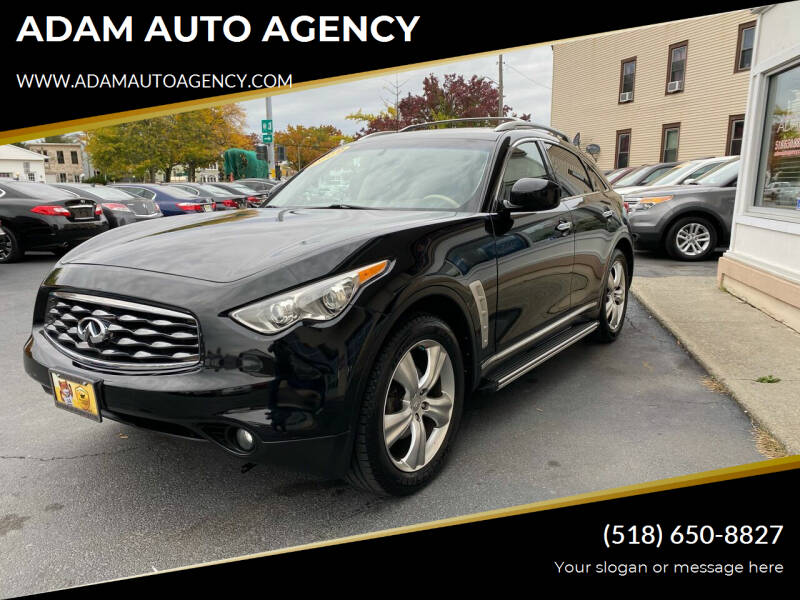 2009 Infiniti FX35 for sale at ADAM AUTO AGENCY in Rensselaer NY