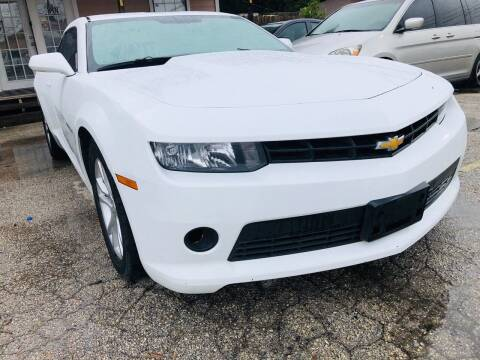2014 Chevrolet Camaro for sale at Lion Auto Finance in Houston TX