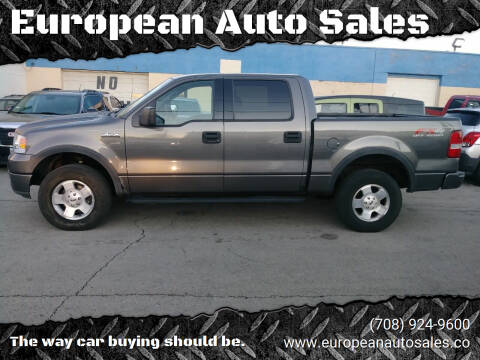 2004 Ford F-150 for sale at European Auto Sales in Bridgeview IL