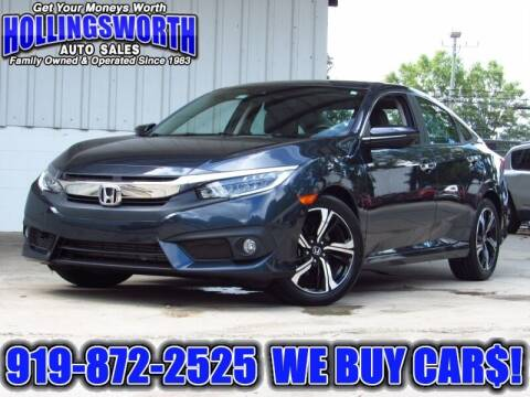2016 Honda Civic for sale at Hollingsworth Auto Sales in Raleigh NC