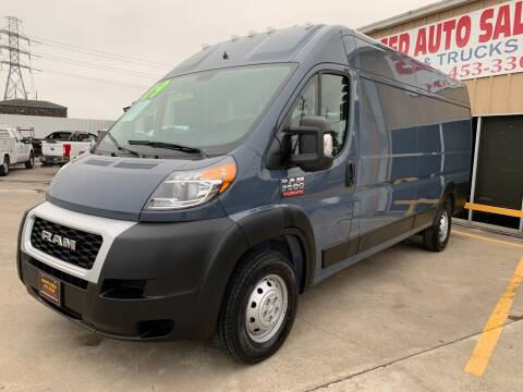 2019 RAM ProMaster Cargo for sale at Market Street Auto Sales INC in Houston TX
