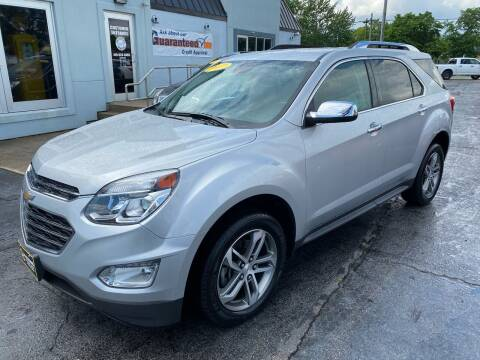 2017 Chevrolet Equinox for sale at Huggins Auto Sales in Ottawa OH