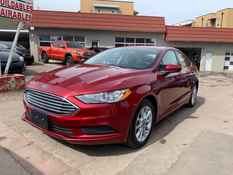 2017 Ford Fusion for sale at STS Automotive in Denver CO