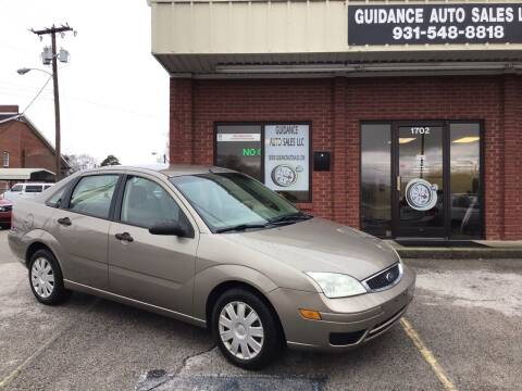 2005 Ford Focus for sale at Guidance Auto Sales LLC in Columbia TN