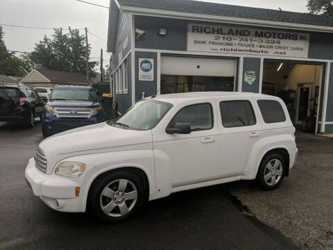 2010 Chevrolet HHR for sale at Richland Motors in Cleveland OH