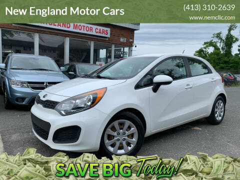 2013 Kia Rio 5-Door for sale at New England Motor Cars in Springfield MA