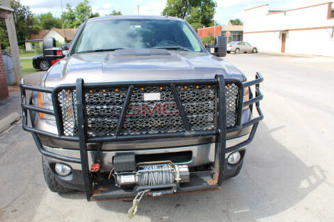 2013 GMC Sierra 2500HD for sale at CANTWEIGHT CLASSICS in Maysville OK