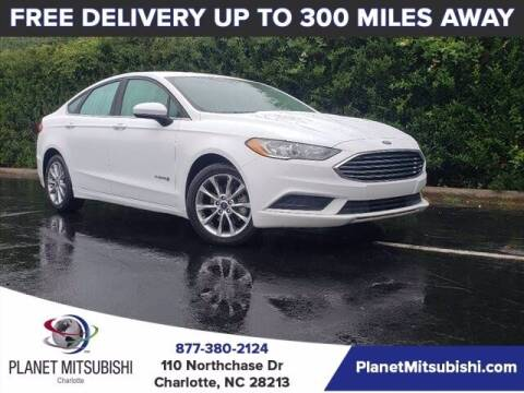2017 Ford Fusion Hybrid for sale at Planet Automotive Group in Charlotte NC