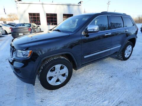 2012 Jeep Grand Cherokee for sale at Chris's Century Car Company in Saint Paul MN