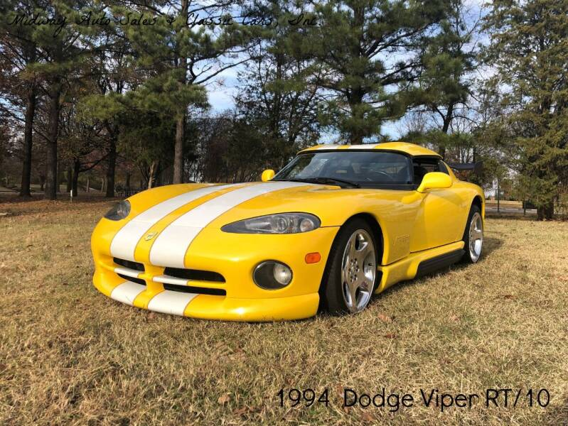 1994 Dodge Viper for sale at MIDWAY AUTO SALES & CLASSIC CARS INC in Fort Smith AR