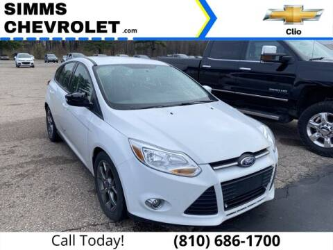 2013 Ford Focus for sale at Aaron Adams @ Simms Chevrolet in Clio MI