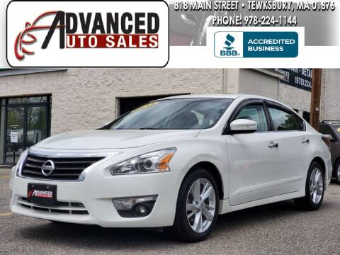 2015 Nissan Altima for sale at Advanced Auto Sales in Tewksbury MA