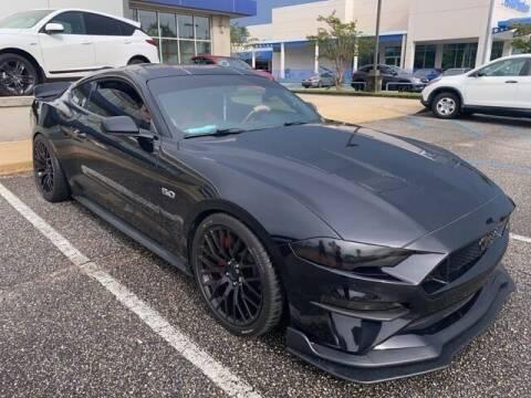 2018 Ford Mustang for sale at JOE BULLARD USED CARS in Mobile AL