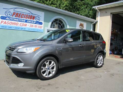 2013 Ford Escape for sale at Precision Automotive Group in Youngstown OH