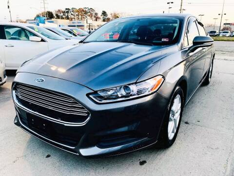 2014 Ford Fusion for sale at Auto Space LLC in Norfolk VA
