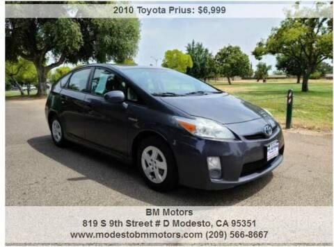 2010 Toyota Prius for sale at BM Motors in Modesto CA
