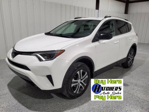 2017 Toyota RAV4 for sale at Hatcher's Auto Sales, LLC - Buy Here Pay Here in Campbellsville KY