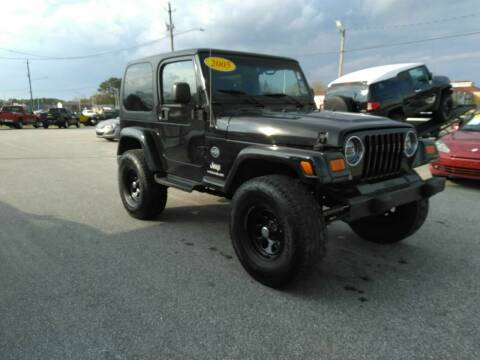 2005 Jeep Wrangler for sale at Kelly & Kelly Supermarket of Cars in Fayetteville NC