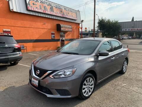 2018 Nissan Sentra for sale at City Motors in Hayward CA