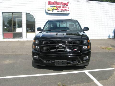2015 Chevrolet Silverado 1500 for sale at Unlimited Auto Sales & Detailing, LLC in Windsor Locks CT