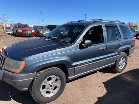 2001 Jeep Grand Cherokee for sale at PYRAMID MOTORS - Fountain Lot in Fountain CO