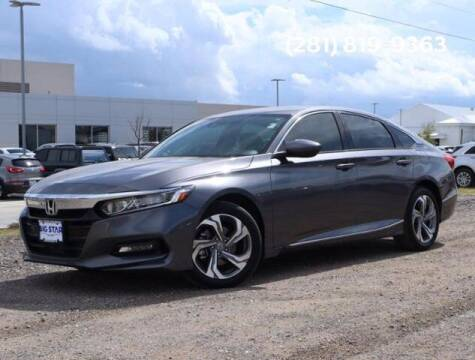 2019 Honda Accord for sale at BIG STAR HYUNDAI in Houston TX