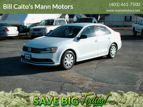 2015 Volkswagen Jetta for sale at Bill Caito's Mann Motors in Warwick RI