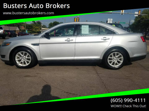 2014 Ford Taurus for sale at Busters Auto Brokers in Mitchell SD