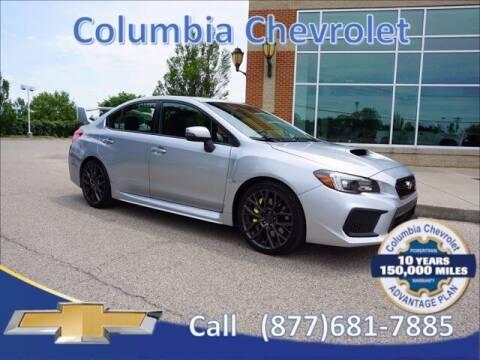 2019 Subaru WRX for sale at COLUMBIA CHEVROLET in Cincinnati OH