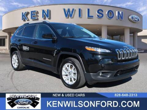 2018 Jeep Cherokee for sale at Ken Wilson Ford in Canton NC