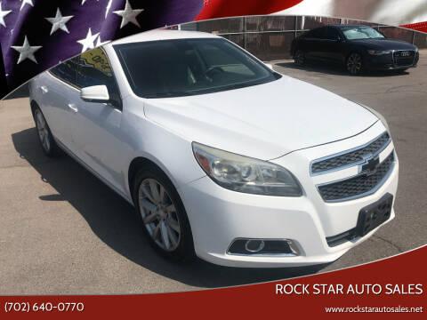 2013 Chevrolet Malibu for sale at Rock Star Auto Sales in Las Vegas NV