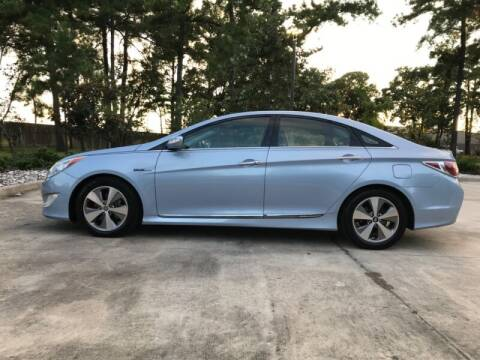2011 Hyundai Sonata Hybrid for sale at ALL AMERICAN FINANCE AND AUTO in Houston TX