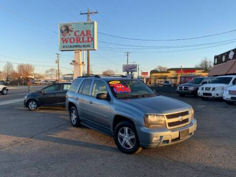 2006 Chevrolet TrailBlazer for sale at CAR WORLD in Nampa ID