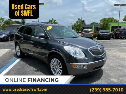 2012 Buick Enclave for sale at Used Cars of SWFL in Fort Myers FL