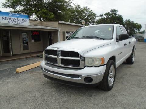 2004 Dodge Ram Pickup 1500 for sale at New Gen Motors in Bartow FL