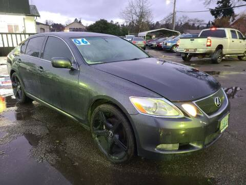 2006 Lexus GS 300 for sale at Universal Auto Sales in Salem OR
