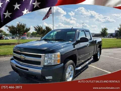 2009 Chevrolet Silverado 1500 for sale at Auto Outlet Sales and Rentals in Norfolk VA