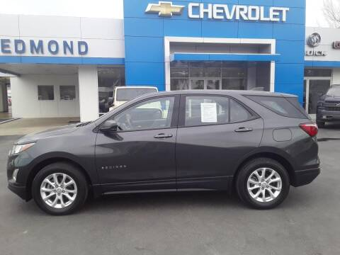2018 Chevrolet Equinox for sale at EDMOND CHEVROLET BUICK GMC in Bradford PA