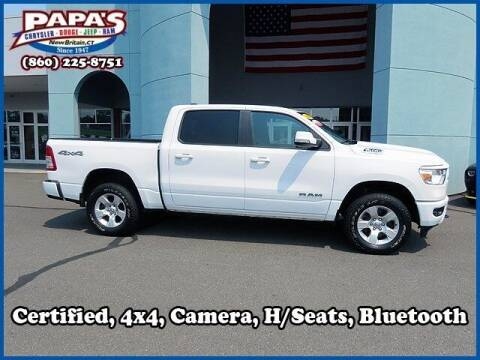 2019 RAM Ram Pickup 1500 for sale at Papas Chrysler Dodge Jeep Ram in New Britain CT