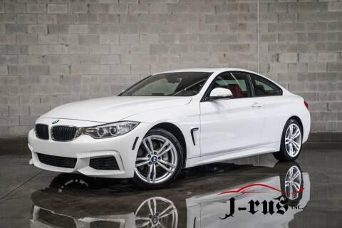 2014 BMW 4 Series for sale at J-Rus Inc. in Macomb MI